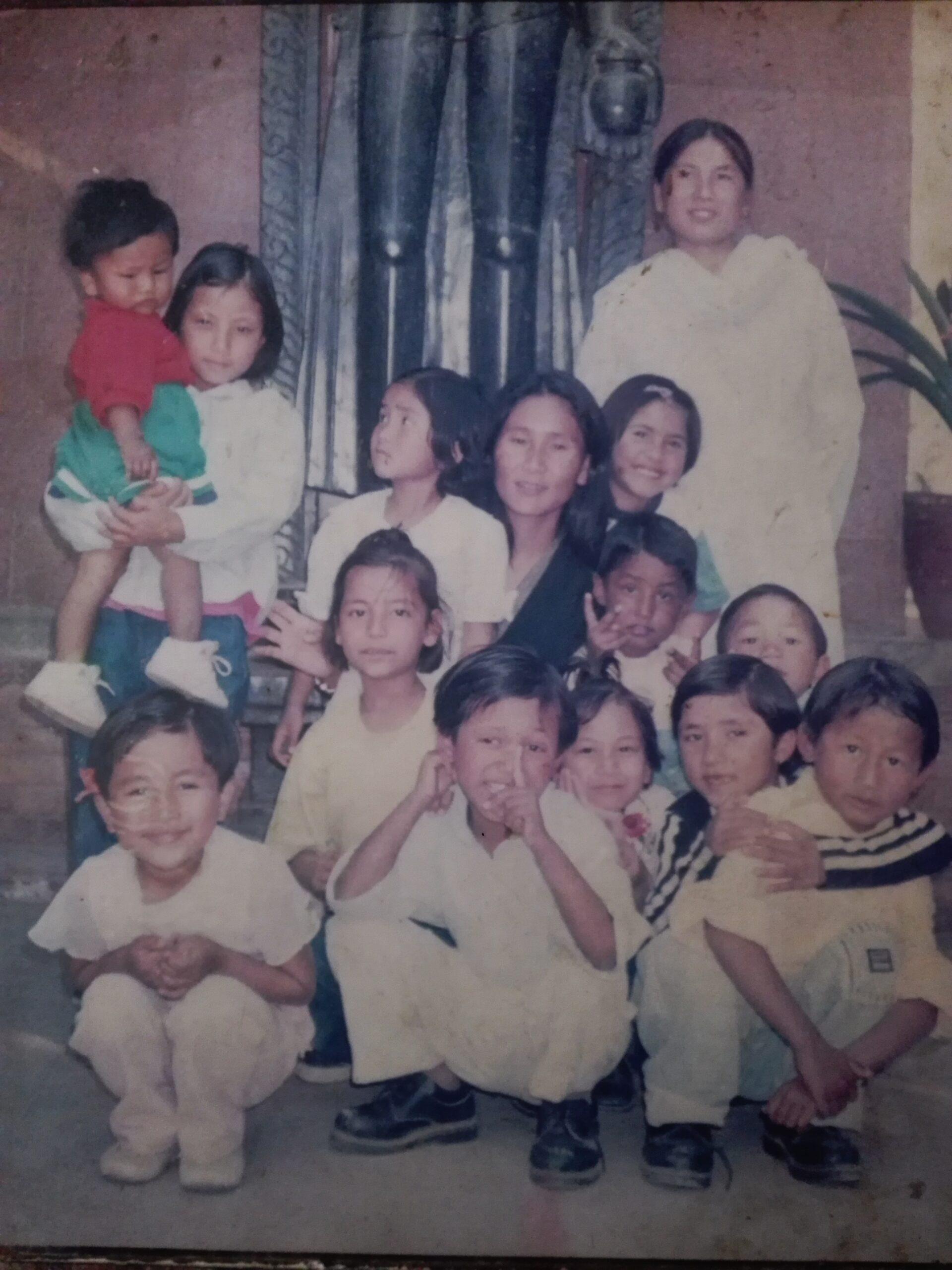 Indira Ranamagar with Children