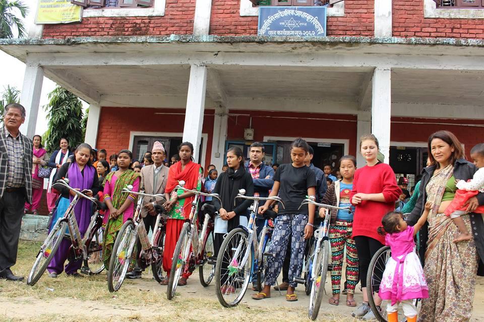 Providing Cycles School