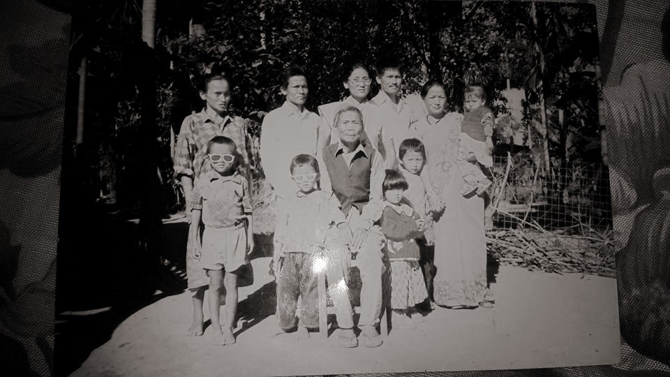 Indira Ranamagar Family Photo